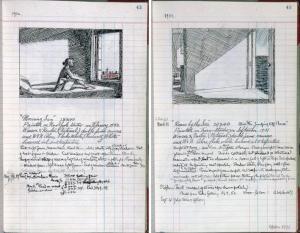 Edward Hopper sketchbook