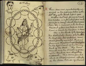 Magic notebook of William Butler Yeats