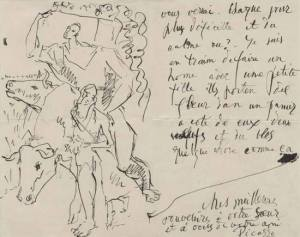 Note from Picasso