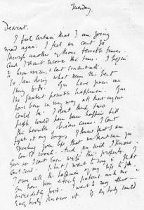Virginia Woolf's suicide letter to Leonard Woolf ( March 25 , 1941)