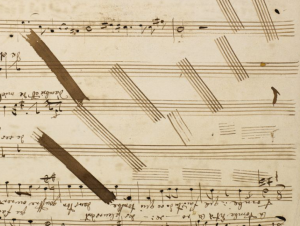 Wagner From MS 110 Vocal line and text of La tombe dit à la rose
