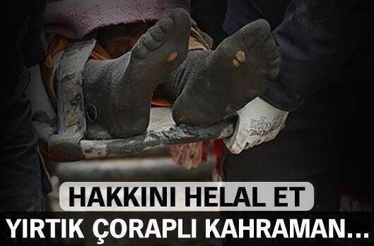 yırtık çoraplı kahraman